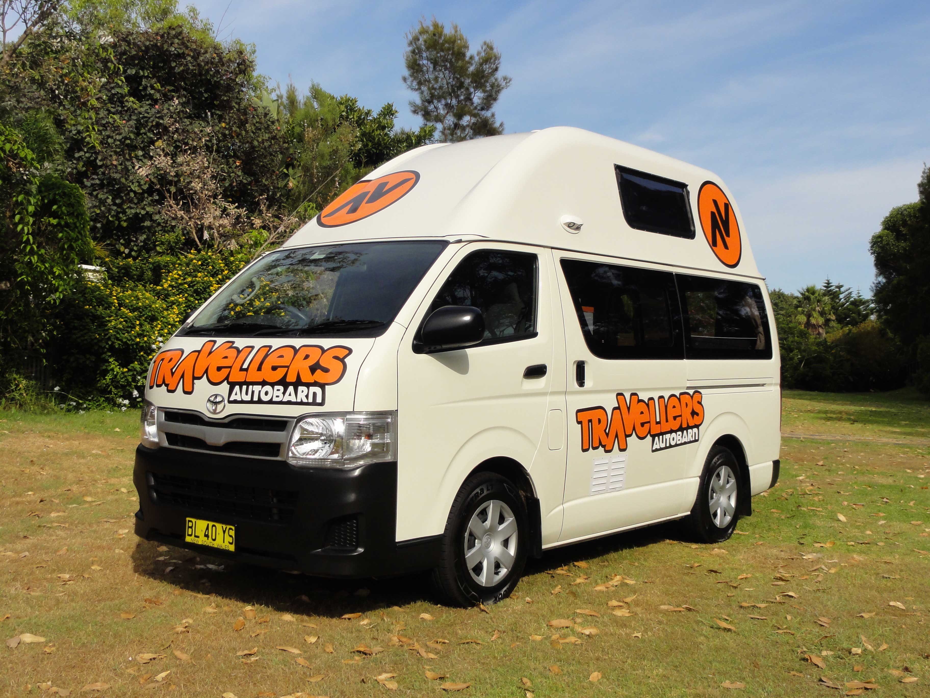 Kuga Campervan Hire New Zealand 1